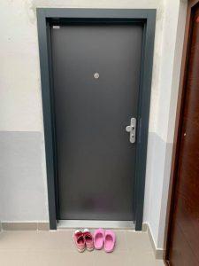 Dvere s úpravou Antracit